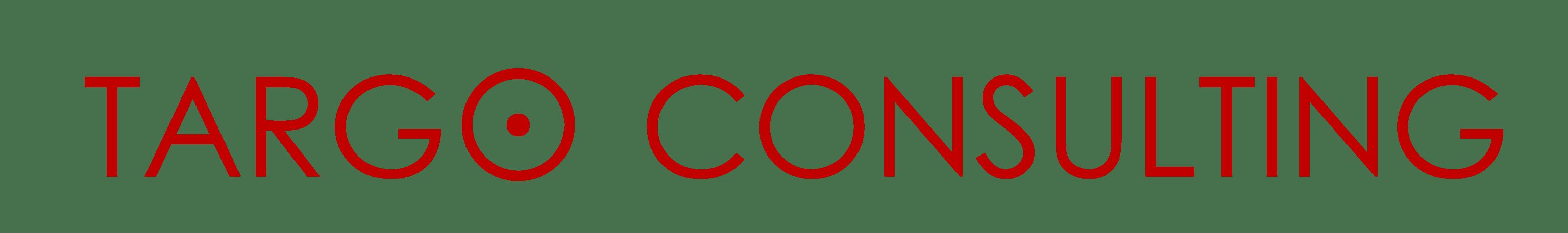 לוגו אדום של טרגו יזמות