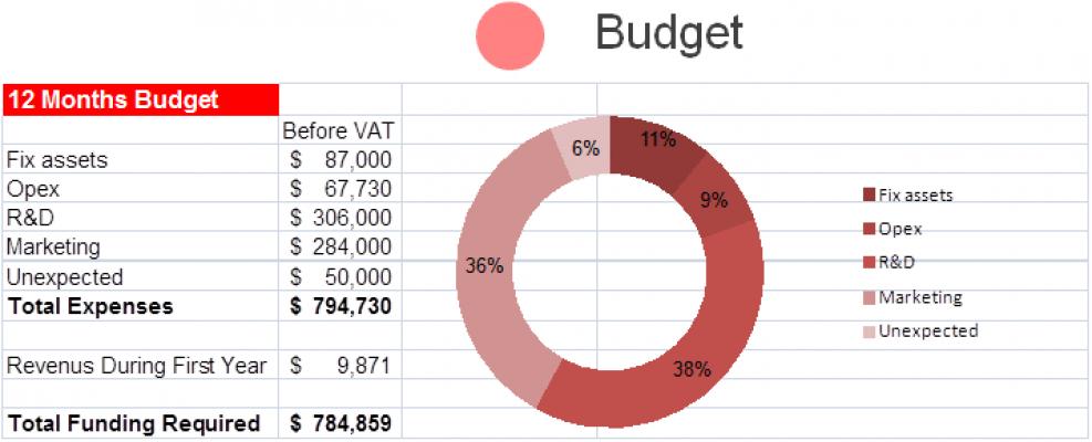 חלקות תקציב בתוכנית עסקית